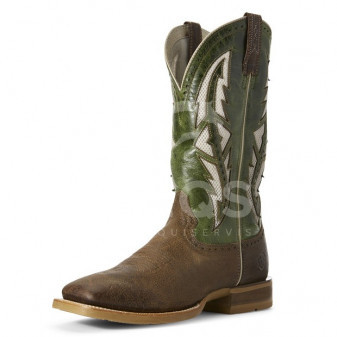*W* Westernové boty  Ariat® COWHAND VENTTEK 10,5/11,5 Tobacco Toffee
