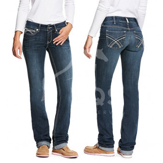 *W* Jeans Ariat R.E.A.L. Low Rise Stretch Kylie Stackable Straight Leg dámské KOL19/20