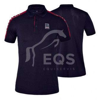 Tričko Kingsland Polo Seward L navy