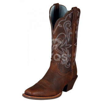 *W* Westernové boty Ariat® ATS Legend 41,5EU/7,5UK/10US Brown Oiled Rowdy A-20% (6297-4995)